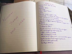 recherche d'idées pour un roman